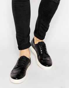 Paul Smith Jeans Merced Brogue Trainers