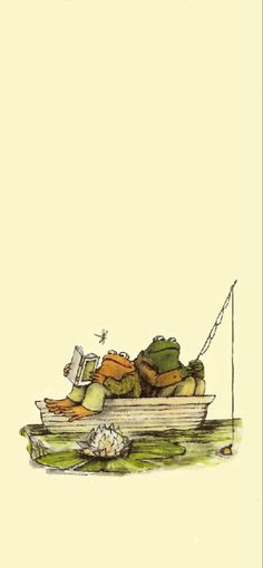 frog and toad wallpaper