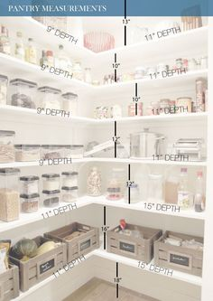Do you know how to get the most out of your kitchen pantry storage? Read Ways to Create more pantry and kitchen Storage - maximize what you have got. pantry Pantry Cabinets – 7 Ways to Create Pantry and Kitchen Storage Kitchen Pantry Storage, Pantry Room, Kitchen Pantry Design, Pantry Cabinets, Kitchen Decor, Food Storage, Kitchen Ideas, Kitchen Pantries, Kitchen Corner