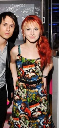 Hayley Williams at the 2008 VMAs // Monster dress by Paper Doll