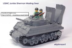 USMC Amhibious Jumbo Sherman | by ekjohnson1