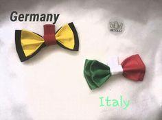 Germany VS Itally  football fan bow ties #FIFA2016