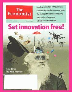 The Economist Magazine August 8 - 14, 2015 - Set Innovation Free! - NEW & Unread