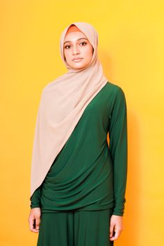 A simple one suit outfit for your Hijab Fashion with Zaryluq. Modesty with Confidence and Zaryluq comes as a pair. Comfortable, cooling and Stretchable material for your modest Fashion. Modest Fashion, Hijab Fashion, Modest Wear, Industrial Style, Confidence, Suits, Stylish, Simple, How To Wear