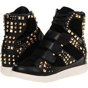 Truth or Dare by Madonna Daffern High Top Sneaker Black 5 M