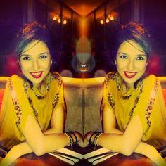 #last #last #night #i #love #red #lipstick #and #gold