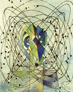 Young Man Intrigued by the Flight of a non Euclidean Fly - Max Ernst