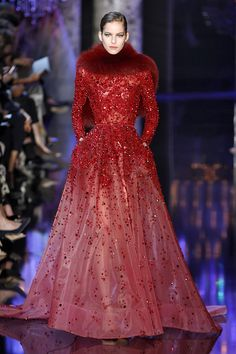 #ElieSaab, Haute Couture Fall 2014 http://infurmag.com/collections-2/2013-2014/haute-cuture/fall-2014/elie-saab/