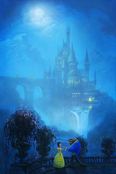 Beauty and the beast-my favourite disney film