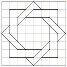 43 Best ideas for quilting squares patterns patchwork Quilt Square Patterns, Barn Quilt Patterns, Pattern Blocks, Square Quilt, Square Art, Patchwork Patterns, Graph Paper Drawings, Graph Paper Art, Barn Quilt Designs