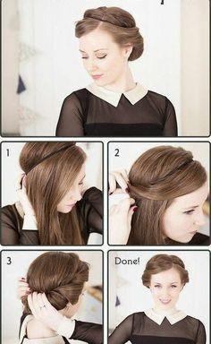 Downton Abbey Hairstyle. What do you think Amanda Pascoe?
