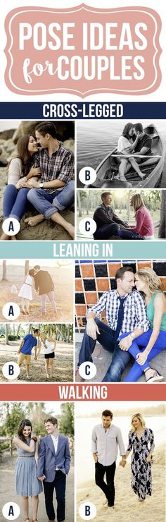 Simple Pose Ideas for Couples