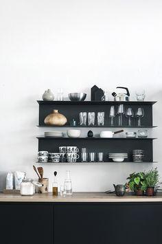 ATELIER RUE VERTE , le blog: For my home / Idées déco 16 / Oser le noir /