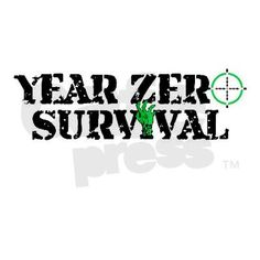 Year Zero Survival Target Zombies Logo Drinking Gl on CafePress.com