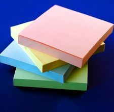 Recipe for making your own paper padding compound (use it for making your own note pads)
