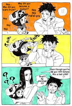 Haha love how Robin's telling him off!