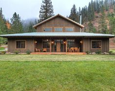 Wow....  how do you beat this!  Love the roof line and structure!  For ever home!!