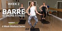 The second video in the Holabird Sports 6-Week Workout Series is barre. Instructor Katie Cook of INLINE Barre Fitness in Perry Hall, Md, leads you through a 24-minute barre workout and a 3-minute cool down with the help of her fellow Inliners, Amanda and Ashley.
