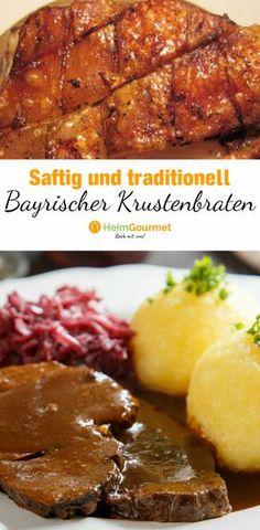 Dieses Rezept für bayerischen Krustenbraten in einer schmackhaften Dunkelbiersauce ist eine einfache Schritt für Schritt-Anleitung für den perfekten Braten. Mit diesem Rezept wird die Kruste schön knusprig.