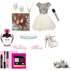 Sem título #60 by leonettaforever-872 on Polyvore featuring moda, ZiGiny, Mikimoto, KC Designs, River Island, Tom Ford, Lord & Berry, NARS Cosmetics, Moschino and Swarovski