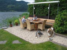 Ferienhaus mit Hund Österreich 4 Personen Bodensdorf - Terrasse