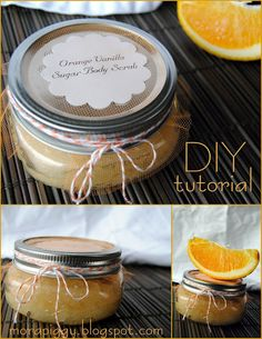 Sugar Body Scrub. {DIY tutorial} This stuff was easy to make and worked well just prepare for a gross razor!