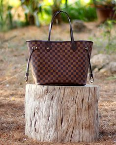 BeTrench: Neverfull + Outfit In Browns