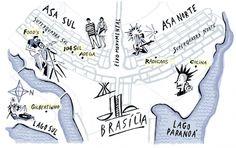 Ilustração obras brasileiras por Nik Neves