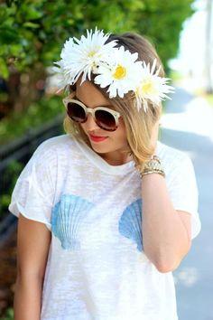Easy DIY Flower Crown Tutorial #prom #headbands