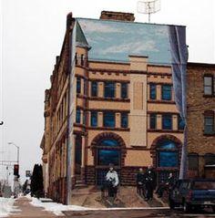 The Ashland Murals in Ashland, Wisconsin