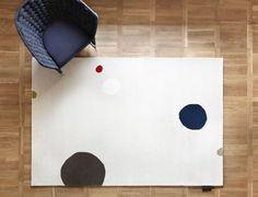 MR DOTTIE  carpet  by  Thomas Sandell for ASPLUND COLLECTION , photo  by  Louise Billgert