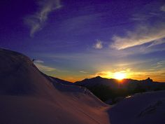 Whistler B.C....one day I will board here :)