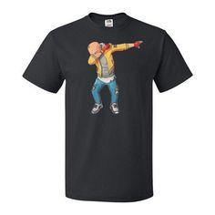 One Punch Man - Saitama Dab -Men Short Sleeve T Shirt - SSID2016