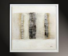 Gemäldetitel: Schichtungen I Künstler: Manuela Pilz Maße: 50 x 50 cm Material: feinste Künstlerölfarben, Leinwand auf Holzkeilrahmen Stilvolles modernes Gemälde, signiert & datiert.