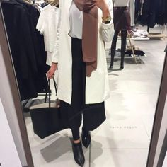 Formal and classic hijab outfits – Just Trendy Girls – – – Outfit Hijab Casual, Hijab Style, Hijab Chic, Hijab Outfit, Muslim Fashion, Modest Fashion, Fashion Outfits, Modest Wear, Modest Outfits