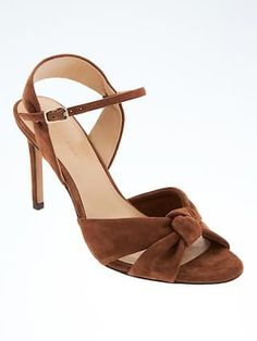 Knotted High Heel Sandal | BR