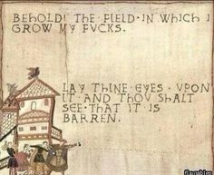 Bayeux Tapestry memes - for the win Mary Xmas, Bayeux Tapestry, Medieval Tapestry, Thats The Way, In Kindergarten, Retro, Laugh Out Loud, The Funny, Daily Funny