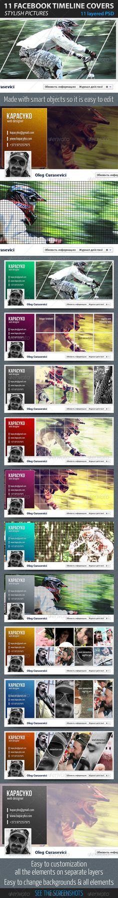 11 Facebook Timeline Covers - GraphicRiver