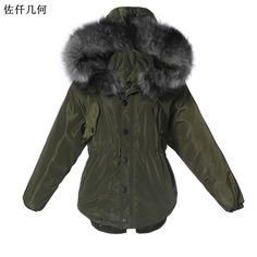 2017 Parkas Women Coats New Design Winter Female Fur Collar Jackets Fashion Warm Hoodies Casual Cotton Outwear Coat High Quality ** AliExpress Affiliate's buyable pin. Locate the offer on www.aliexpress.com simply by clicking the VISIT button