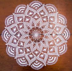 Ravelry: Pretty Baby Doily pattern by Elizabeth Hiddleson