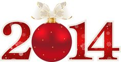 Free Transparent PNG | Transparent_Red_2014_with_Christmas_Ball_PNG_Clipart.png?m=1382988674
