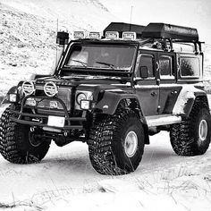 This may work to take my Dad on his dream trip across the Alaska highway!   Land Rover
