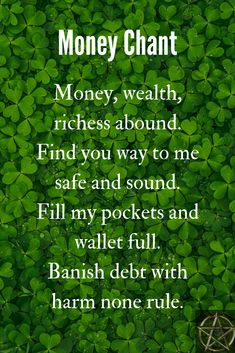 A witch spell to attract money. A witch spell to attract money. Powerful Money Spells, Money Spells That Work, Spells That Really Work, Witchcraft Spell Books, Wiccan Spell Book, Witch Spell, Hoodoo Spells, Magick Spells, Gypsy Spells