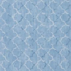 Chinese Trellis - Cobalt wallpaper, from the Shanghai Garden Wallpaper collection by Designers Guild