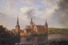 j c dahl - Google Search Cool Landscapes, Landscape Paintings, Johan Christian Dahl, Danish Prince, Castle Painting, Art Database, Romanticism, Artist Names, Online Art Gallery