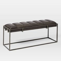 Fontanne Leather Bench. Love this bench. Might be out of budget though