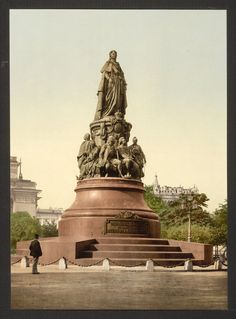 Monument of Catherine II, St. Petersburg, Russia — Viewer — World Digital Library