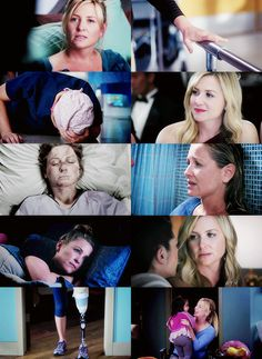 Arizona Robbins - So much shit she's been through. So many times I've wanted to bitch slap her. But I love her.