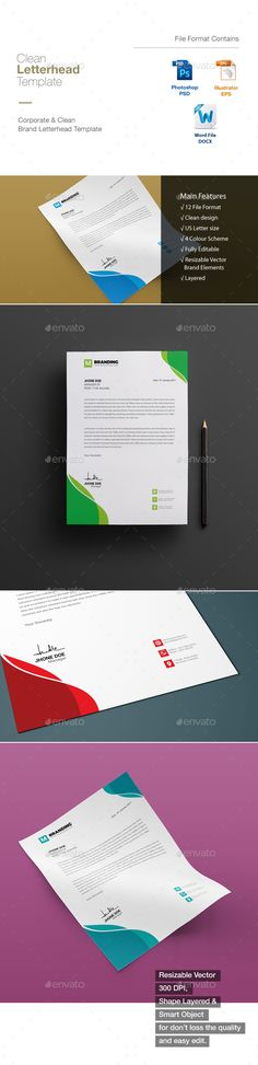 Abstract letterhead pad template letterhead ai illustrator and abstract letterhead pad template letterhead ai illustrator and stationery printing spiritdancerdesigns
