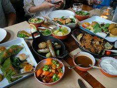 Mittagskarte auf der Speisekarte von Katz Orange Restaurant-Bar in Berlin